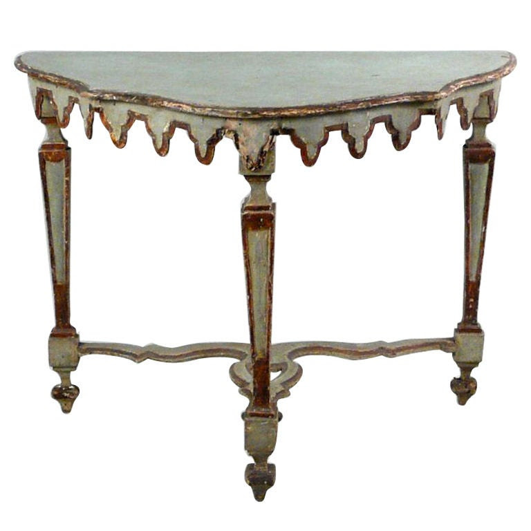 Excellent 18th Century Venetian Italian Console Table at 1stdibs