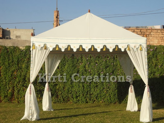Artistic Luxury Tents – Raj Tent