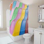 Colorful Kids Carnival Giant Fun Slide Shower Curtain