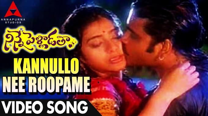Kannullo Nee Roopame Song Lyrics in Telugu - Ninne Pelladatha (1996) | Nagarjuna, Tabu