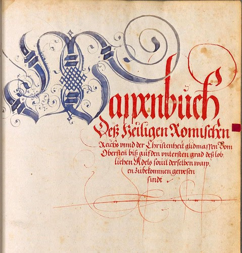 BSB Cod.icon. 390 - Wappenbuch