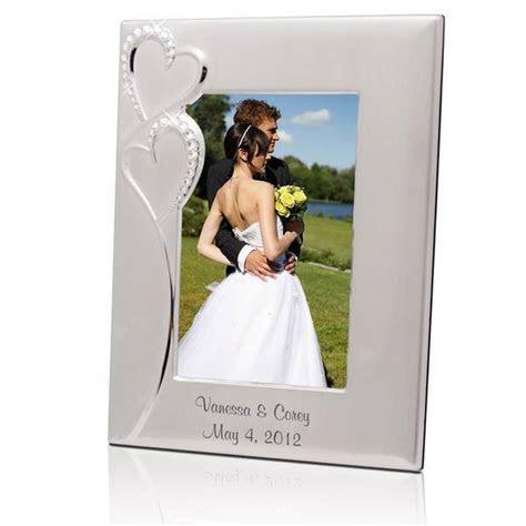 Wedding amazing dress: Engraved wedding picture frame