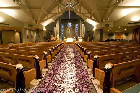 Black and Plum/Purple Wedding and Reception