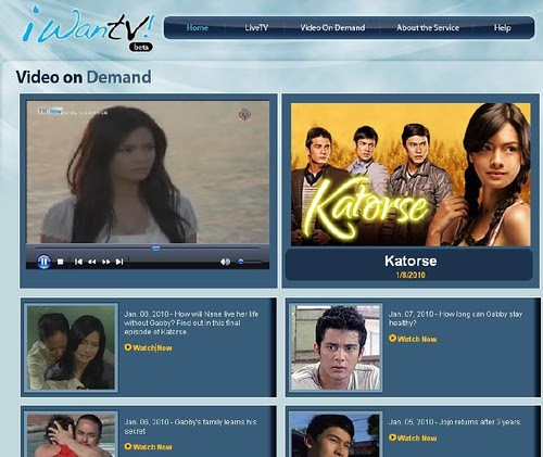 iWantv.com.ph - watch TV online and video on demand