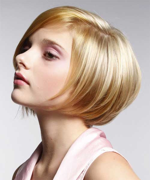 of the short bob hairstyle that is cute and elegant , this ...