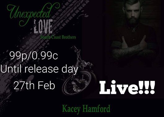 Unexpected Love by Kacey Hamford Release Blitz