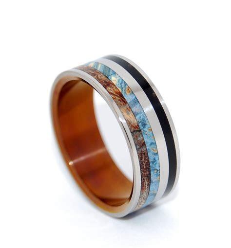 Minter & Richter   Titanium Rings   Unique Wedding Rings