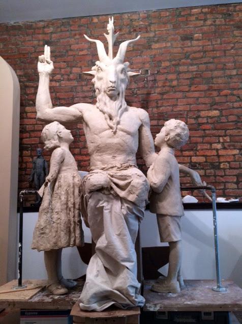 estatua baphomet oklahoma Estados Unidos se enfrenta al resurgimiento del Satanismo