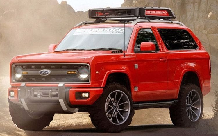 Ford Bronco | 2017 - 2018 Best Car Reviews