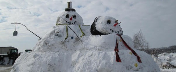Mr-and-Mrs-Snowman-Married