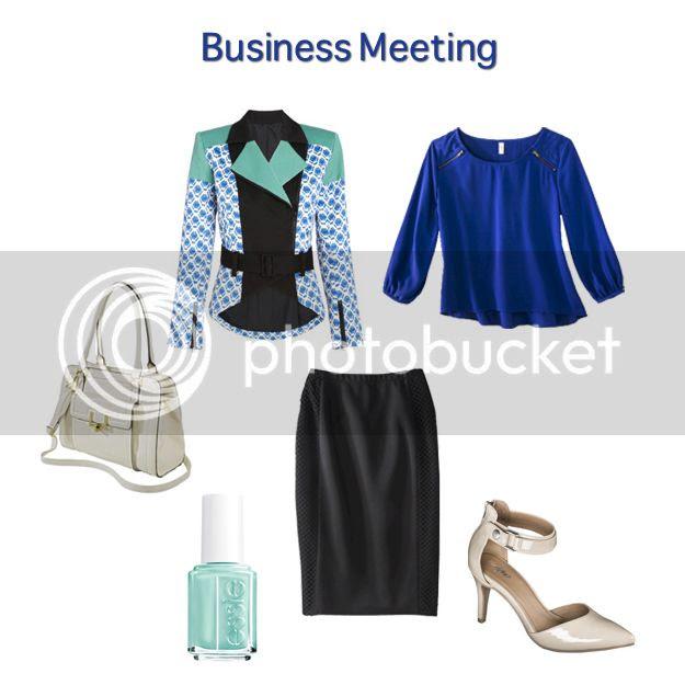 Peter Pilotto for Target lookbook - business meeting