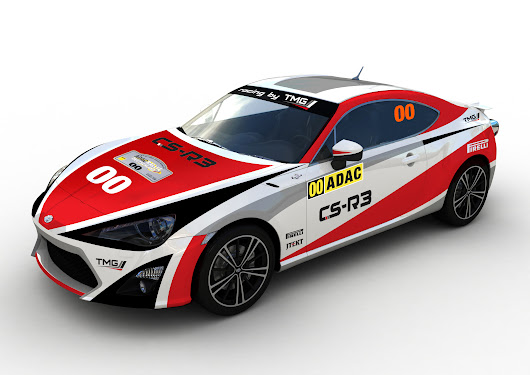 German WRC debut for Toyota GT86 CS-R3