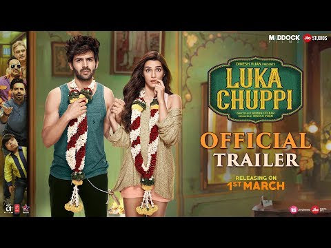 Luka Chuppi Official Theatrical Trailer + New Posters