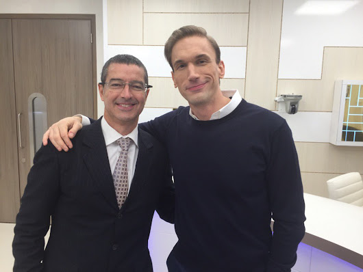 "Greg Williams on Twitter: ""Great to meet @DoctorChristian and participate in the new @FirecrackerFilm @UKTV program #FarjoHairInstitute """