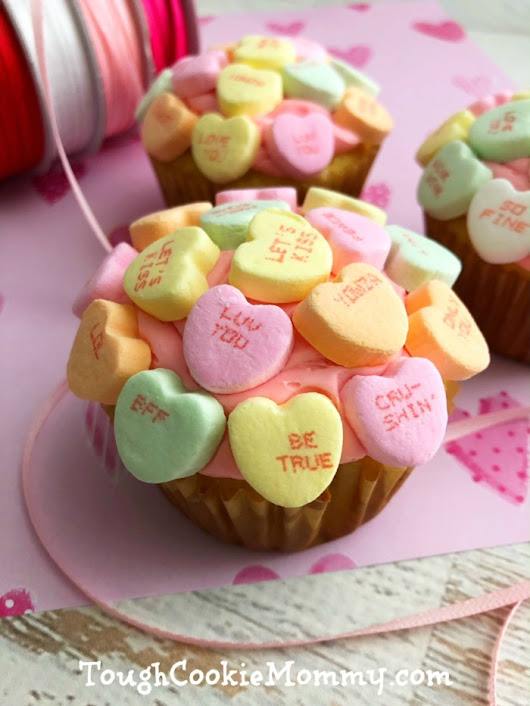 Valentine's Day Cupcakes - Tough Cookie Mommy