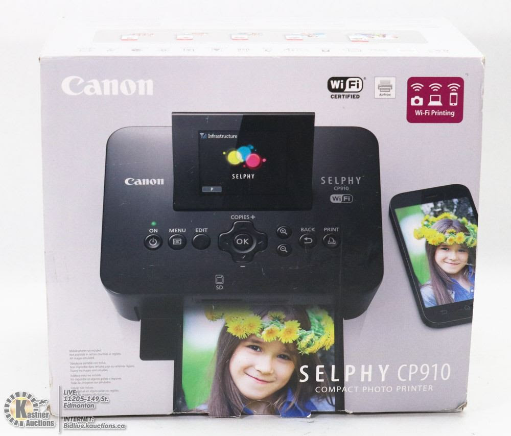 New In Box Canon Selphy Cp910 Compact Photo
