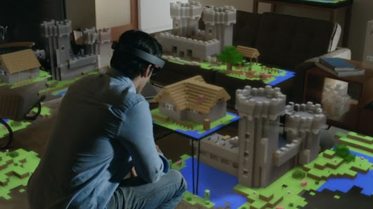 Microsoft Steamrolls Everyone with HoloLens