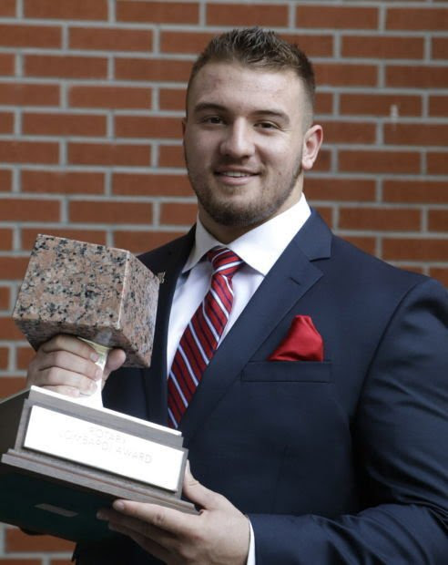 UA football: Wright's 'great ride' continues with Lombardi Award : Football