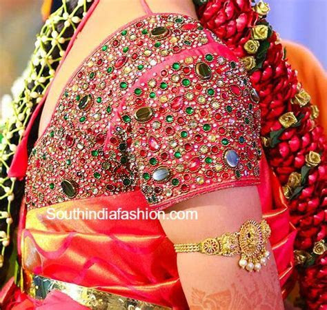 Pin by Rishita Vijay on Indian Couture   Bridal blouse
