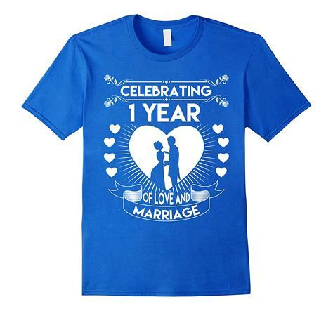 1 Year 1st Wedding Anniversary Gifts and Ideas Couple T