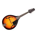 Ktaxon A-Style Maple Wood Mandolin Instrument Sunburst Mahogany