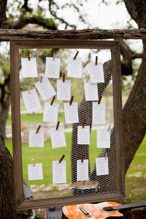 unique seating chart displays wedding invitations