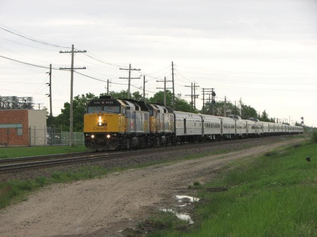 VIA 6456 and the Canadian