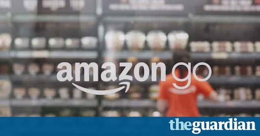 Amazon Go store lets shoppers pick up goods and walk out | Business | The Guardian