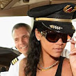 'The coolest thing I've ever done!' Rihanna cracks open the bubbly as she sets off on 777 world tour in private jumbo jet