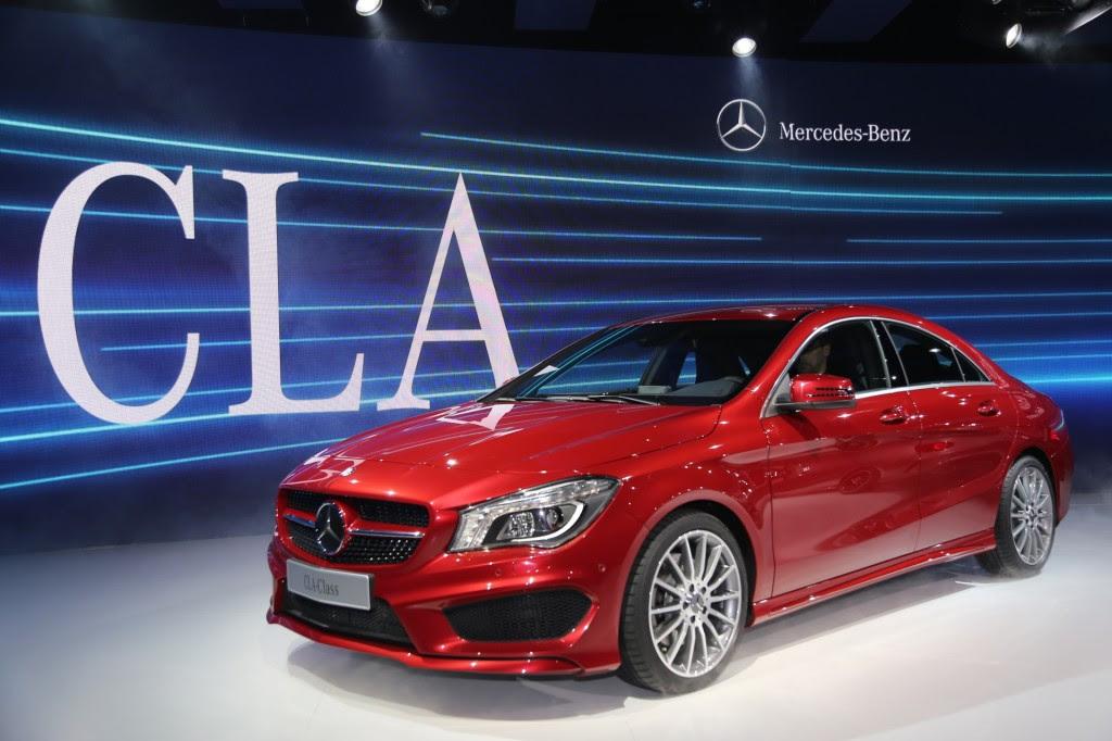 2014 Mercedes-Benz CLA Coupe: Detroit Auto Show Preview