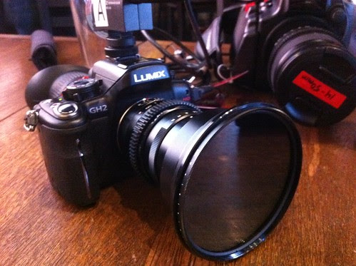 Panasonic GH2 w/ wide angle