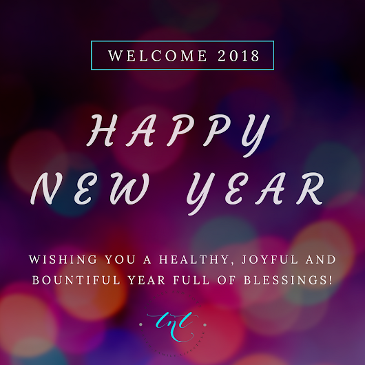 Welcome 2018 – Happy New Year!
