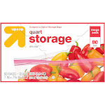up & up 1-Quart Storage Bags - 80 count