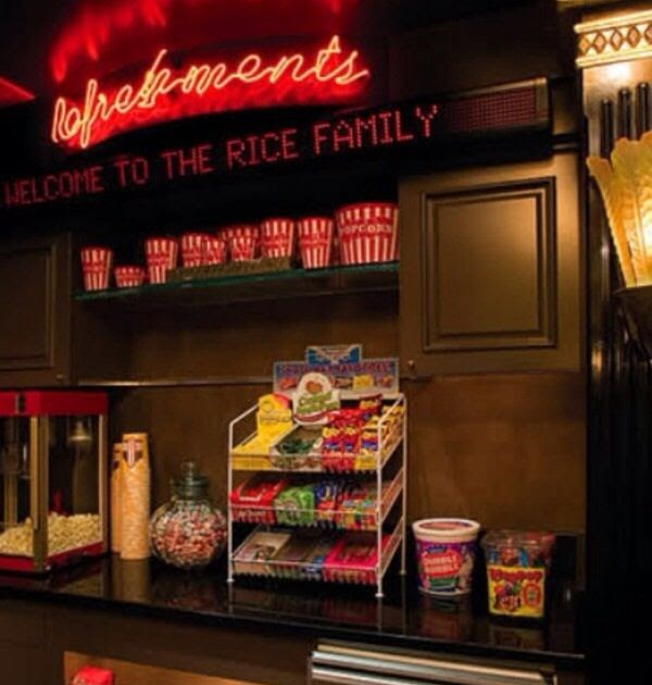 Concession Stand For Theater Room With Images: Dream House: Everyone Would Want To Hang Out At My House