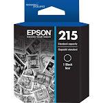 Epson 215 Original Ink Cartridge - Black - Inkjet - 215 Pages - 1 Each