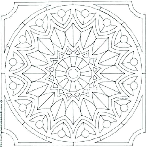 Mystery Mosaic Coloring Pages at GetColorings.com | Free ...