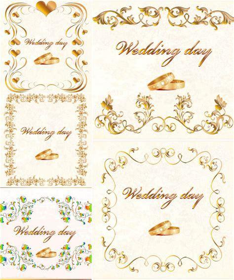 Wedding cards designs vector   Vector Graphics Blog