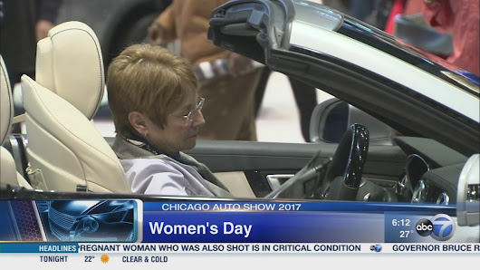 Chicago Auto Show 2017: Women's Day |