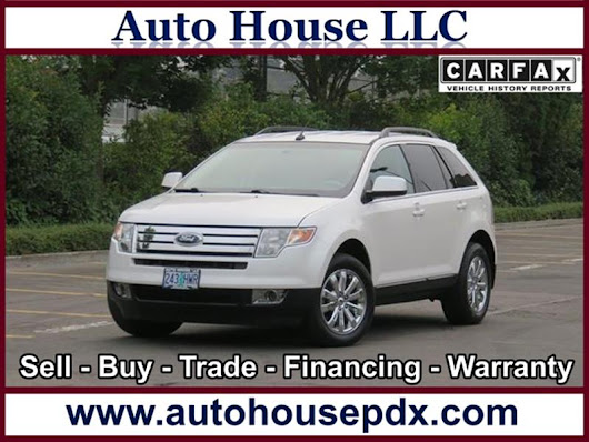 2010 Ford Edge Limited - Auto House LLC - Used Car Dealership - Portland OR
