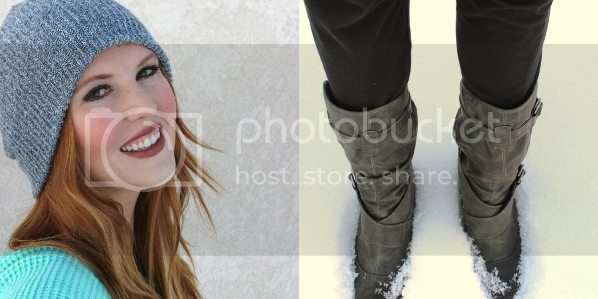 cute grey boots
