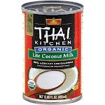 Thai Kitchen Organic Lite Coconut Milk - 13.66 fl oz can
