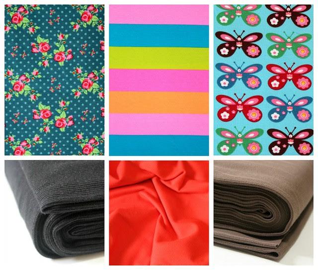 New Lillestoff Collage; lillestoff; scandifly; neon stripes; smila roses