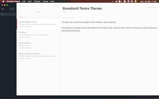 Standard Notes, un Evernote chiffré et open source – Graphisme & interactivité