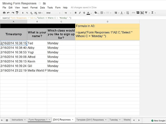 Discover how to automatically move Google Forms data in a Google ...