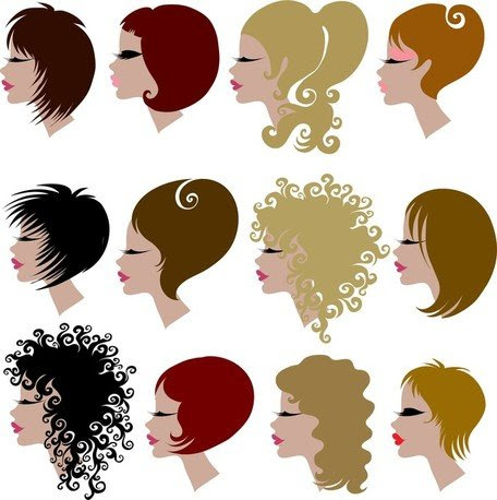 Hair Theme, vector graphics - Clipart.me