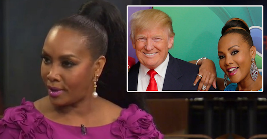 Oh My! See How Vivica Fox DRAGS Her Former TV Boss, Donald Trump!