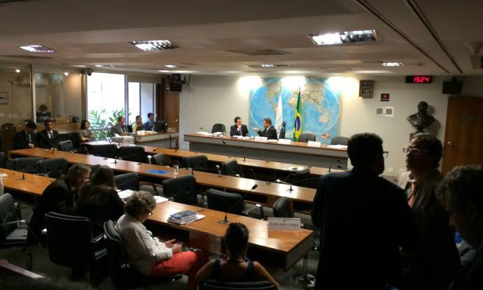 Comissão mista Congresso MP do Futebol (Foto: Fabrício Marques)