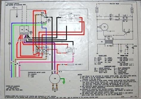 goodman air conditioner wiring diagram