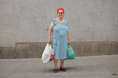 woman with red hair and blue dress_8135 web