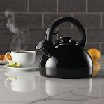 Circulon 2-quart Morning Brew Tea Kettle, Black